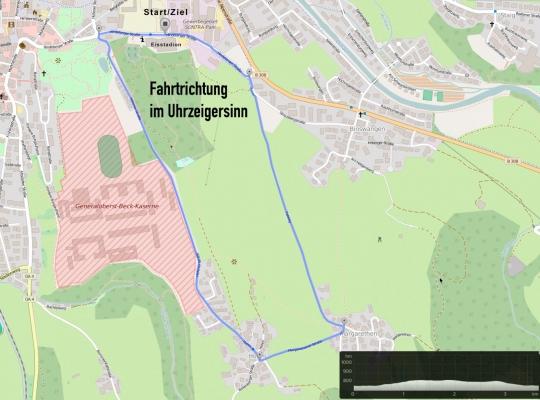 Strecke Andreas Brandl Gedächtnisrennen 2017