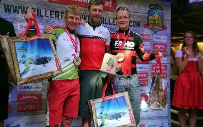 2. Platz (AK) bei der Zillertaler Bikechallenge