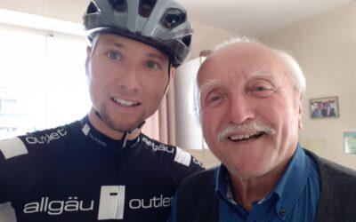 Dank an Willi Brandl für die Unterstützung des Brandl Rennens