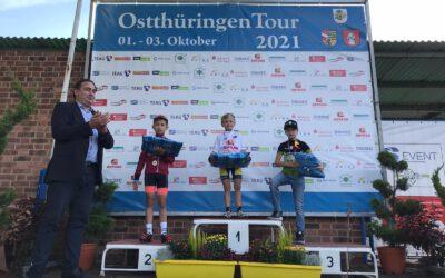 Emil unter den Favoriten bei der Ostthüringen Tour